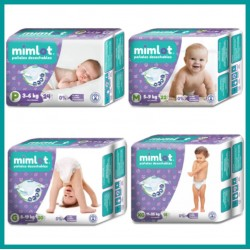 Pañales para bebés Mimlot