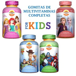 Multivitaminas infantiles Sundown Kids